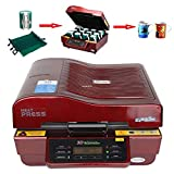 3d heat press - US Stock-Ving 3D Sublimation Heat Press Machine for Phone Cases Mugs Cups Heat Transfer Printing (110V)
