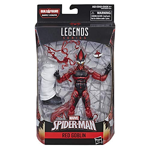Spider-Man Legends Series 6-inch Red - Series Legend Carolina