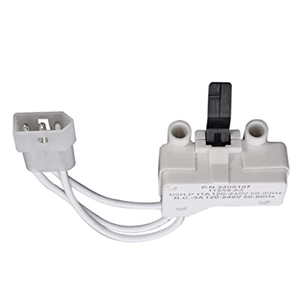 3406100 Replacement Dryer Switch For Whirlpool Kenmore NON-OEM 3406100