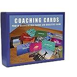 Carte ispiratrici foto-associazioni per management, coaching cards e gioco di qualità per lo sviluppo di un team, per allenatori, coaches e manager