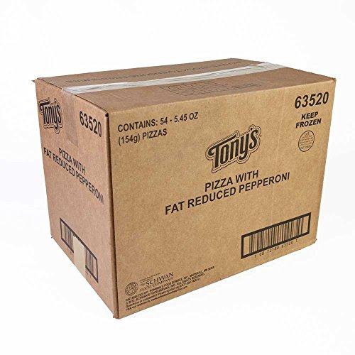 Schwans Tonys Pepperoni Par Baked Pizza, 6.25 Ounce - 54 per case.