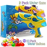 EXSPORT 2 Pack Water Gun Water Squirt Gun for Kids, Great Toy for Soaker Squirt Games Hot Summer Water Games