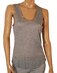 Zadig & Voltaire Tam Gold Foil Tank Top