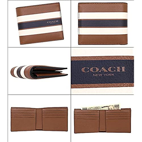 71608a8a891cd5 安い [コーチ] COACH 財布 (二つ折り財布) F75399 ダークサドル CWH レザー