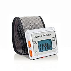 TECH TOOLS INNOVATIVE GIFTS AND GADGETS Silent Vibrating Personal Alarm Clock Shake-N-Wake (White)