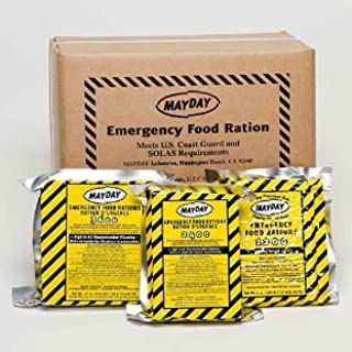 Mayday Food Bars Emergency 3600 Calorie Food Bars (20 per case) weight 39 lbs (B005Z74YEQ) | Amazon price tracker / tracking, Amazon price history charts, Amazon price watches, Amazon price drop alerts