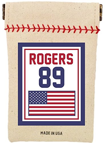 Baseball's Customized Seed Sack for Sunflower Seeds Flag Series (Includes 6 Ounces of Seeds) Fits in Your Back Pocket. Take it on The Field. (United - Pouch Seed