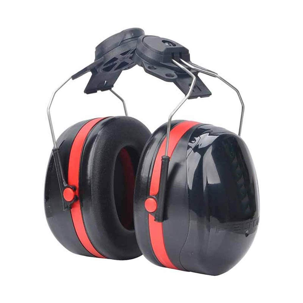 DLYDSS Noise-Proof Earmuffs ,Noise Reduction Ear Muffs, Hanging Helmet Earmuffs Hearing Protection Providing Highest SNR 34dB Noise Blocking for Construction Or Yard Work by DLYDSS