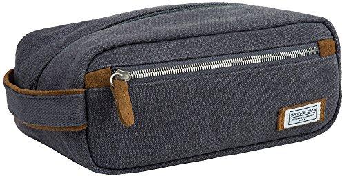 UPC 025732034437, Travelon Heritage Top Zip Toiletry Kit, Pewter, One Size