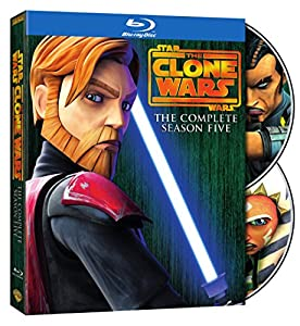 Cover Image for 'Star Wars: The Clone Wars - The Complete Season Five'
