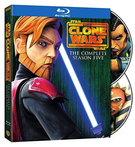 Star Wars: The Clone Wars - Season 5 - Clone Wars Blu Ray Star Wars