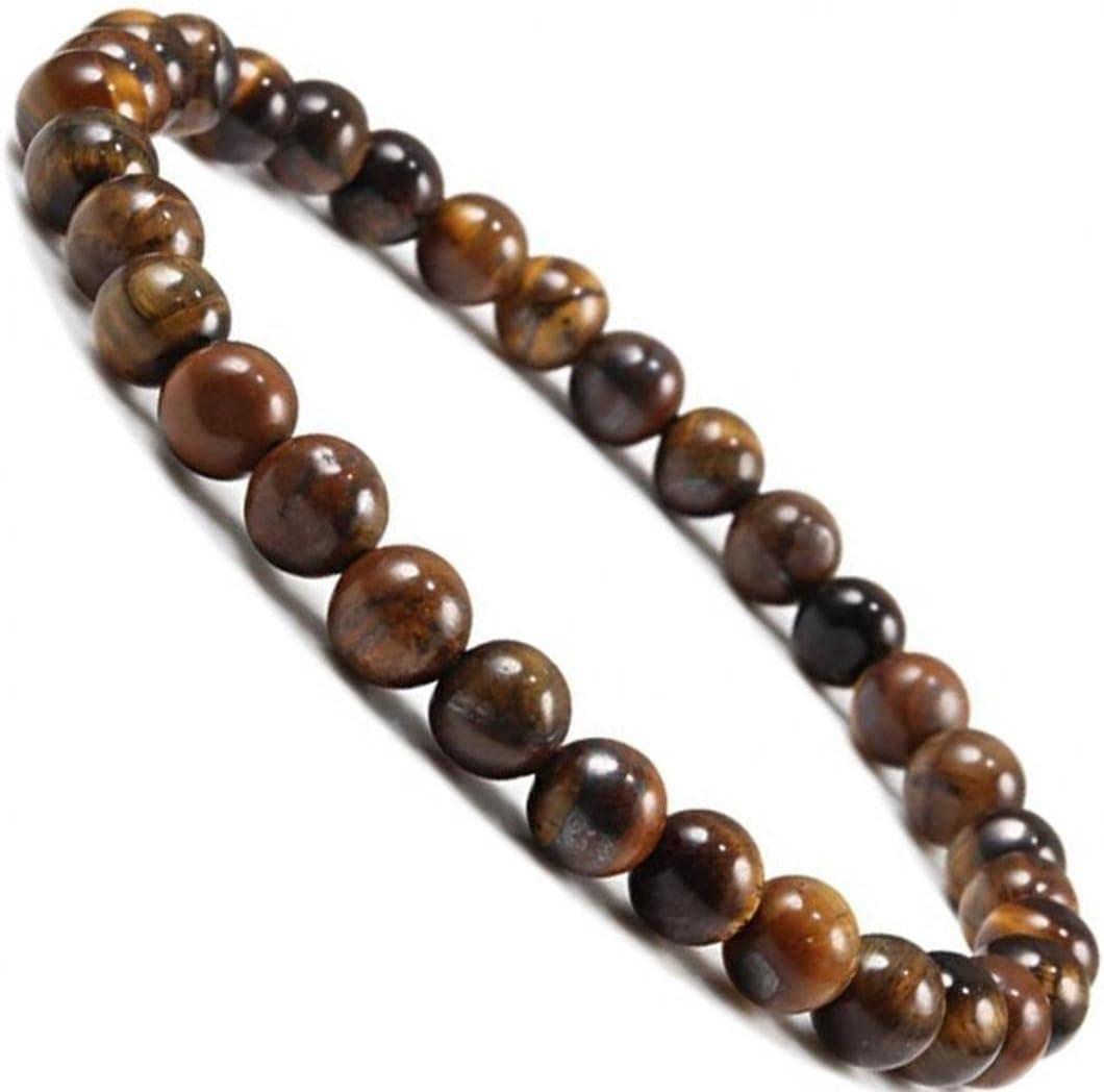 Zonster Pulsera Unisex 1pc Buda Natural Bolas De Piedra Yoga Meditación Joyería Elástico del Ornamento Hecho a Mano