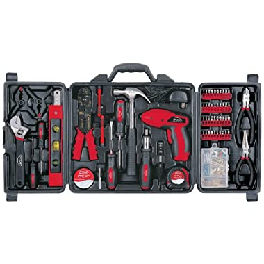 Apollo Precision Tools DT0738 Household Tool Kit, 161-Piece