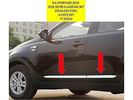 OMTEC Sportage 4 pieza puerta Juego de revestimiento adecuado para Kia Sportage 2010 - 14 yt-sp010: Amazon.es: Coche y moto