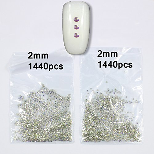 Buy nail crystal rhinestones 2mm