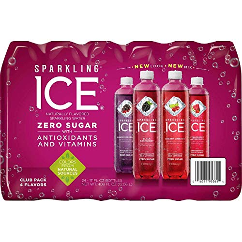 Sparkling Ice Very Berry Huge Variety Pack of 24 Bottles ()