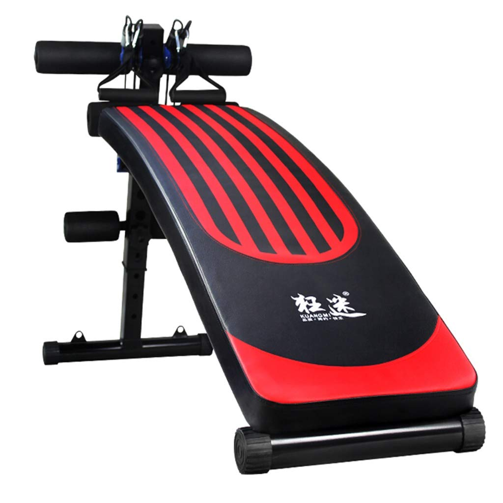 Lxn Verstellbare Sit-up-Bank Slant Board Pro Ab, Verstellbare Workout Bauch-Übung Multifunktions Bench Board, Leichte Multifunktionale Fitnessgeräte
