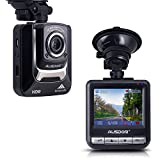 AUSDOM AD282 Dash Cam Car Recorder Full HD 1080P with G-Sensor Loop Recording, HDR Super Night Vision, Motion Detection,and Parking Monitor Car Camera Recorder for Vehicle