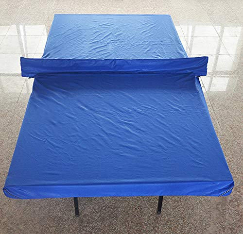 Lesmin Heavy-Duty Weatherproof Standard Table Tennis Table Cover with Reflective Sign Dust-Proof Outdoor Anti-Small Water by Lesmin