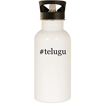 Amazon com: #telugu - Stainless Steel 20oz Road Ready Water Bottle