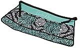 Gift Craft 32.3-Inch Polyester and Cotton Garden Diva Design Garden Apron, Medium, Teal Green/Black/White