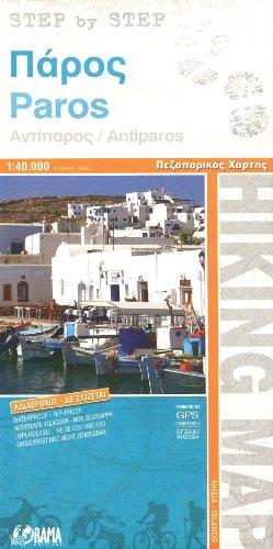 Paros & Antiparos (Greece) 1:40,000 Hiking Map, waterproof, GPS compatible, ORAMA, 2011 edition
