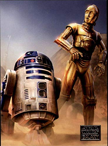 2018 Topps Star Wars Galaxy Non Sport Trading Card #63 The Droid's Journey R2-D2 and C-3PO Official Collectible Entertainment Card