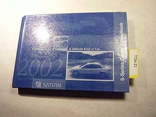 2002 saturn s series owners manual saturn amazon com books rh amazon com 2000 saturn s series owners manual Saturn Repair Manual