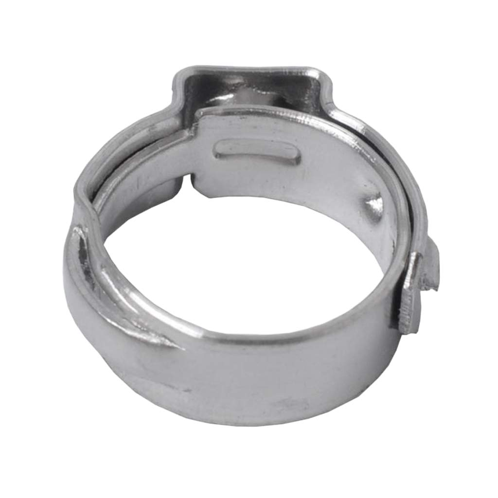 20.3-23.5mm Homyl 10Pcs Plated Double Ear Hose Fuel Clamp with Standard Jaw Pincers Kit