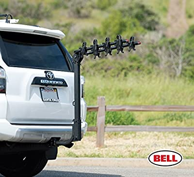 Bell Hitchbiker 450 4-Bike Hitch Rack with Stability