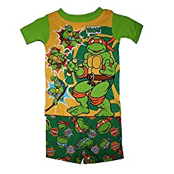 Teenage Mutant Ninja Turtles Short Sleeve Pajama Sleepwear Baby Boys' 12 Months