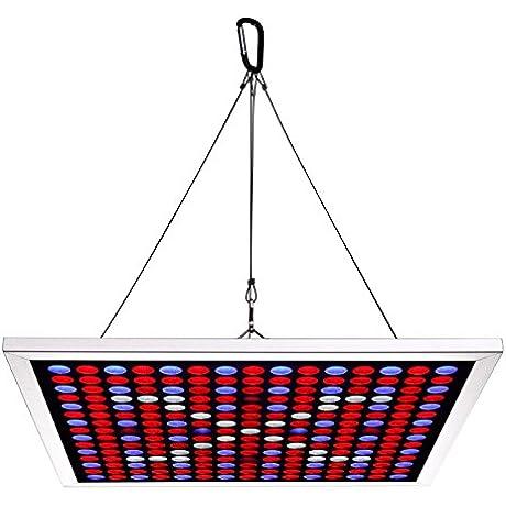 Growstar Ultrathin Super Light 45W LED Grow Light Full Spectrum For Indoor Plants Veg And Flowers