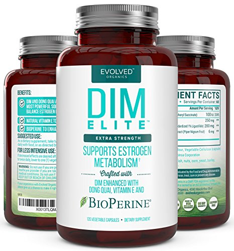 Extra Strength DIM 250mg from Evolved Organics