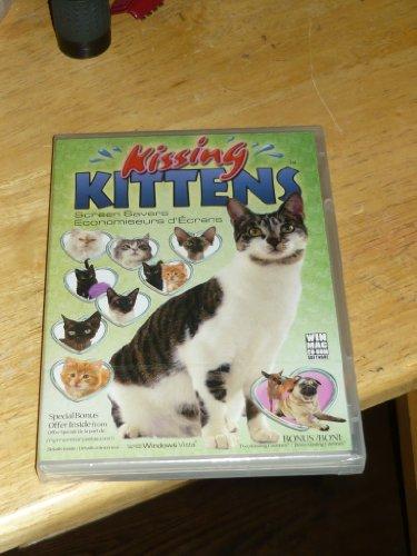 BRAND NEW KISSING KITTENS SCREEN SAVER