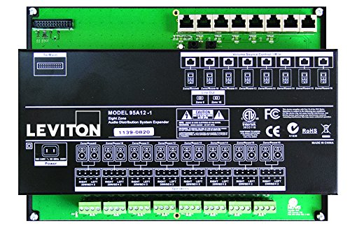 Leviton 95A18-1 Hi-Fi 2 Expansion Amplifier Assembly with Power Supply