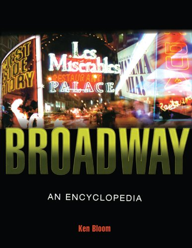 Broadway: An Encyclopedia Pdf