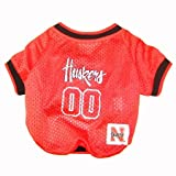 Nebraska Corn Huskers Dog Jersey Leash & Collar Set Small