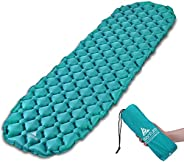 Hikenture Sleeping Pad - Ultralight Inflatable Sleeping Mat- Comfortable Camping Mattress-2.5 Inches Compact C