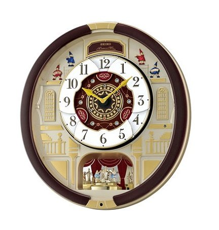 SEIKO Melodies in Motion 24 Melodies Wall Clock - special collectors edition