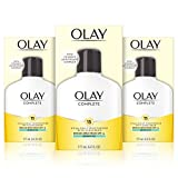 Olay Complete Lotion Moisturizer with SPF 15 Sensitive, 6.0 Ounce, 3 Count