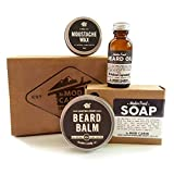 Core Beard Kit - Winter Frost - All Natural, Hand Crafted in USA