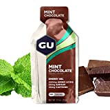 GU Energy Original Sports Nutrition Energy Gel, Mint Chocolate, 24-Count