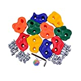 HAPPY PIE PLAY&ADVENTURE HappyPie Kids Wall Rock Climbing Holds with Hardware Screw for Children Outdoor Playground