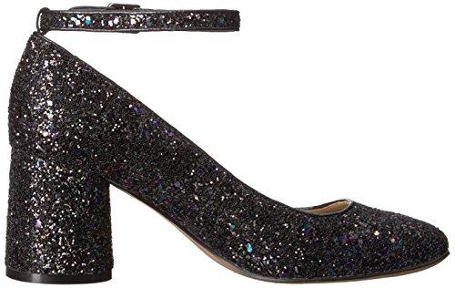The Fix Women's Margot Block Heel Ankle Strap Pump Midnight Black Glitter best place cheap price best store to get online store cheap price best seller x1vAqSQ7N
