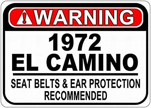 1972 72 CHEVY IMPALA Parking Sign