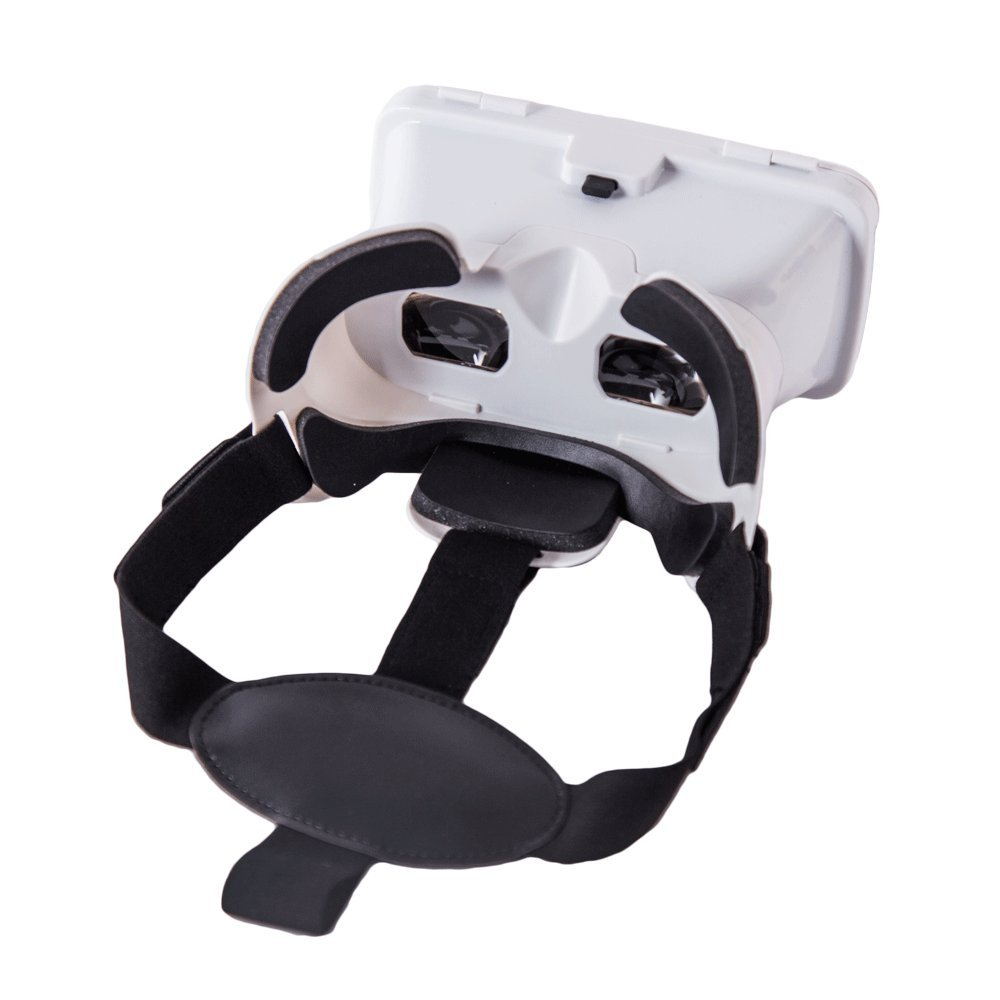 3D VR Glasses, Topmaxions Virtual Reality Headset 3D Viewing Goggles Audio & Video Accessories for Apple iPhone 7s/7 6s/6 plus/6/5s/5c/5 Samsung s5/s6 note4 note5 and Other 3.5''-6.0'' Cellphones