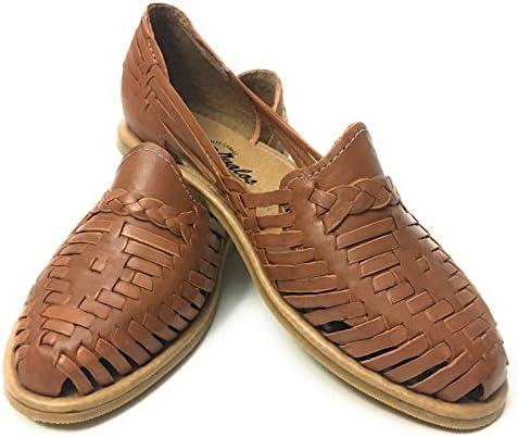 f40cd166e EL CHARRO Womens Leather Sandals. Original Huarache Sandals. Mexican Closed  Toe Sandals
