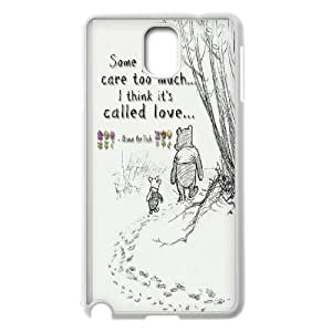 Samsung Galaxy Note 3 Cell Phone Case Winnie The Pooh & Quotes Case Cover PA8P311993