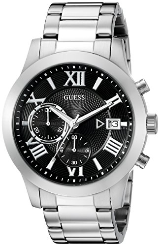 GUESS U0668G3 Silver Tone Multi Function Chronograph product image