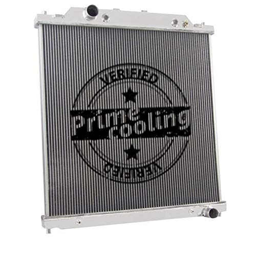 - 2 Row Dual-Core Aluminum Radiator for Ford F250 /F350 /Excursion 2003-07 (6.0L Turbo Diesel Powerstroke Engine)